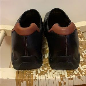 Cole Haan Shoes - Cole Haan Black Leather Slip On Shoes 10